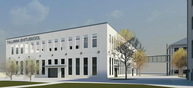 Ehituskooli uus praktikahoone